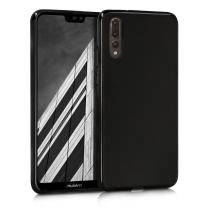 kwmobile Chic TPU Silicone Case for The Huawei P20 Pro in Black Matte
