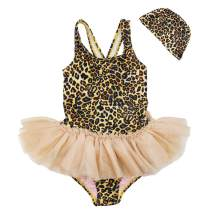 Baby Toddler Girl Swimsuit Unicorn Tutu Skirt Swimwear -One Piece Princess Swimwear Infant Bathing Suits for Girls Kids