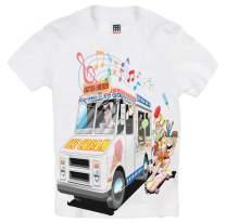 Shirts That Go Little Boys' Ice Cream Truck T-Shirt