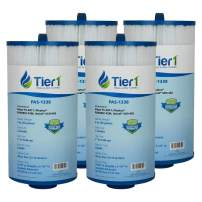 Tier1 Jacuzzi 6540-723, Pleatco PJW40SC-F2M, Filbur FC-2811, Unicel 5CH-402 Comparable Replacement Spa Filter Cartridge (4-Pack)