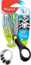 Maped Koopy Spring-Assisted Educational Scissors, Kids, 5 Inch, Blunt Tip, Right Handed Use (470249)