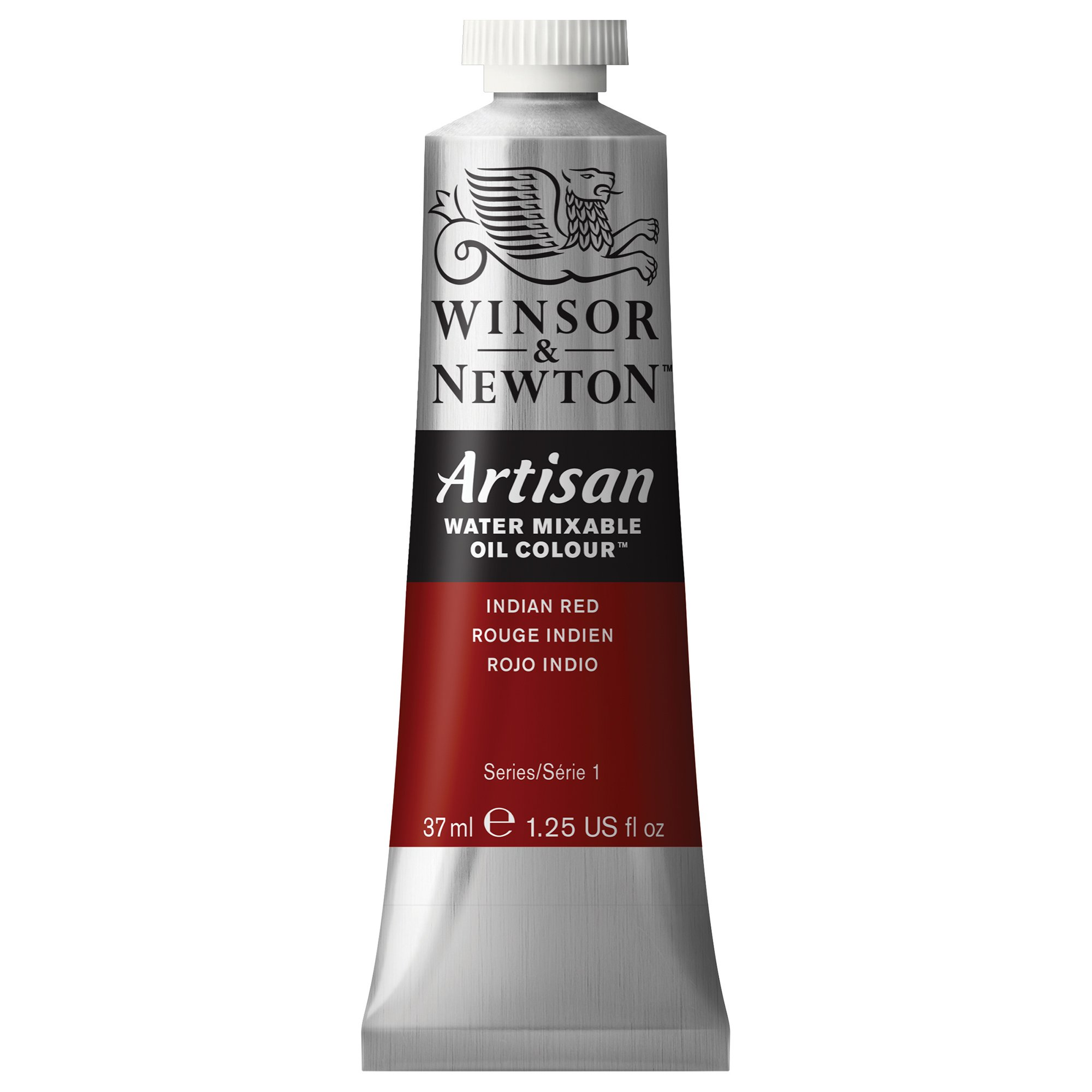 Winsor & Newton Artisan Water Mixable Oil Colour, 37ml Tube, Indian Red