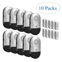 Door Window Alarm 10 PCS Home Security Magnetic Sensor 120DB Alert for Home Business Kids