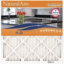 Flanders PrecisionAire 84857.012025 NaturalAire Odor Eliminator Air Filter with Baking Soda, MERV 8, 20 x 25 x 1-Inch, 4-Pack