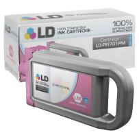 LD Compatible Ink Cartridge Replacement for Canon PFI-701PM 0905B001AA High Yield (Photo Magenta)