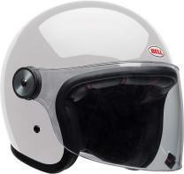 Bell Riot Flip-Up Motorcycle Helmet (Solid Gloss White, X-Small)