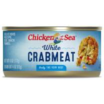 Chicken of the Sea White Crab, 6 ounce Cans (Pack of 12)