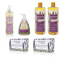 Dr. Jacobs Naturals Pure Castile Liquid Soap - The Complete Gift Set - Free of Parabens, Sulfates, Synthetics, Gltuen and GMO (Lavender Love)