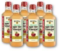 Marukan Organic Apple Cider Vinegar, 24 Ounce, Pack of 6