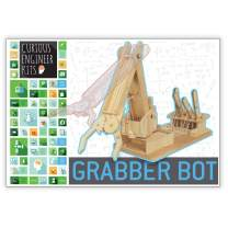 Make a Grabber Bot Kit | 3d wooden model | Facts and easy instructions included | Copernicus Toys Curious Engineer Kit…
