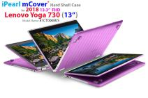 """mCover Hard Shell Case for New 2018 13.3"""" Lenovo Yoga 730 (13) Laptop (NOT Compatible with Yoga 710/720 / 910/920 Series) (Yoga 730 Purple)"""
