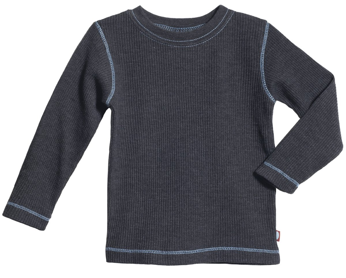 City Threads Boys and Girls Thermal Shirt Top Tee Tshirt for Warm Base Layering & School Uniform