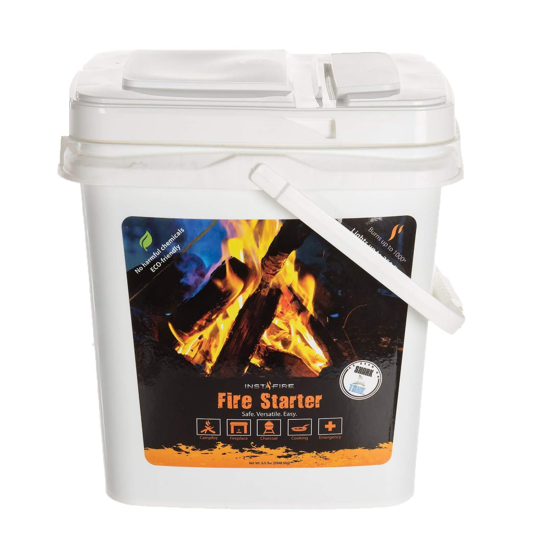 InstaFire Eco-Friendly Granulated Bulk Fire Starter, 2-Gallon Bucket