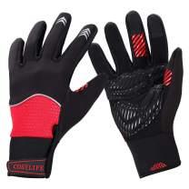 Cosy Life Cycling Bike Gloves,Winter Warm Touchscreen Gloves Windproof Waterproof Winter Sports Gloves for Running, Biking, Driving, Climbing, Hiking