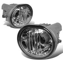 Replacement for Scion tC/Matrix/Pontiac Vibe Pair of Bumper Driving Fog Lights (Clear Lens)