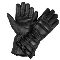 Men's Genuine Sheep Leather Winter Street Cruiser Motorcycle Thermal Gloves L