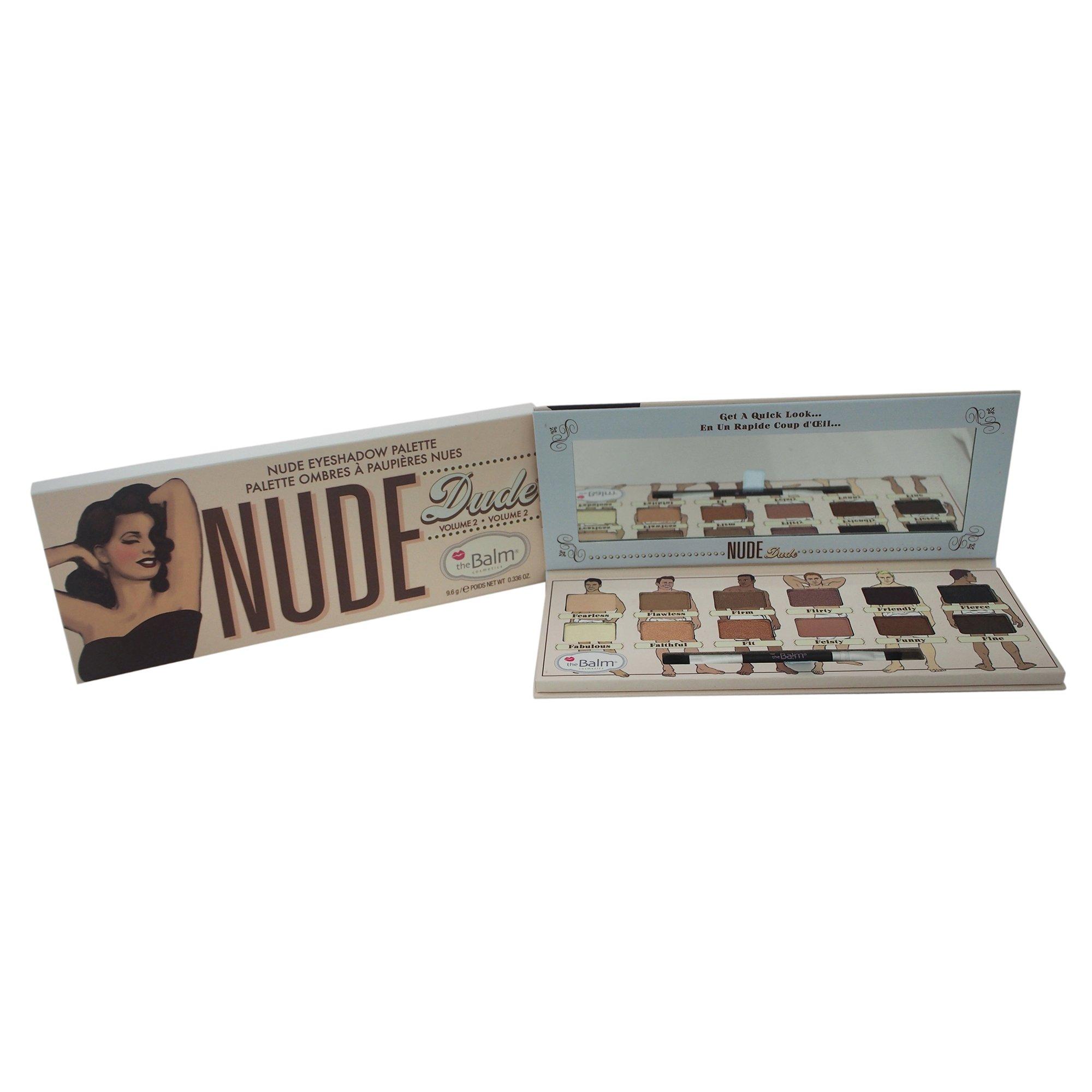 theBalm Nude Dude 12 Triple-Milled Eyeshadow Palette