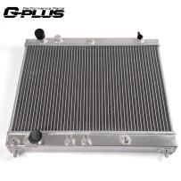 2 Row Core Full Aluminum Racing Radiator Replacement For Scion xB BB xA 1NZ 2004 2005 2006 2007 Manual Transmission