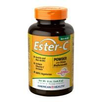 American Health Ester-C Powder with Citrus Bioflavonoids - Gentle On Stomach, Non-Acidic Vitamin C - 750 mg, 8 oz, 83 Servings