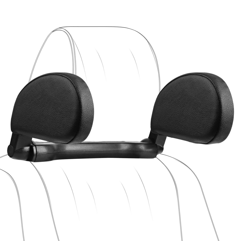 Car Headrest Pillow, Hswt Car Neck Pillow Head Pillow, Sleeping Travel Car Seat Pillow, Car Neck Head Shoulder Sleep Cushion Car Side Pillow for Kids Adults Elders