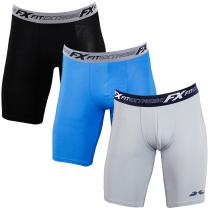 FITEXTREME Mens 3 Pack Micro Modal Sports Stretch Performance Boxer Briefs