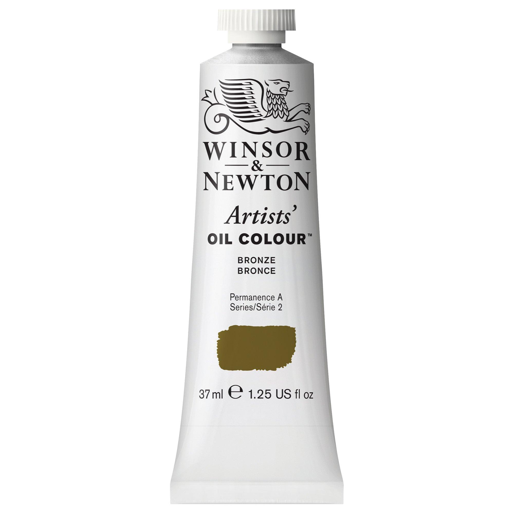 Winsor & Newton Artists' Oil Colour Paint, 37ml Tube, Bronze