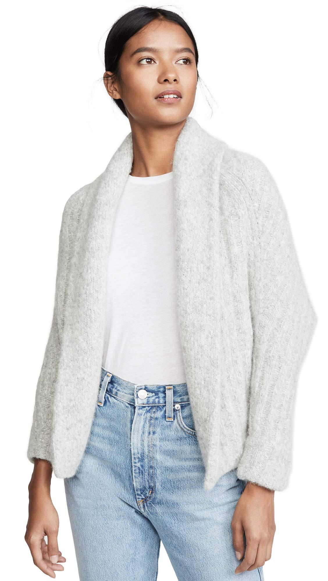 Vince Women's Textured Alpaca Shawl Cardigan