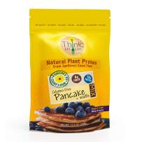 Think Eat Live Gluten Free Pancake & Waffle Mix (10.5 oz.) | Sunflower Seed Flour, With Organic Natural Sweetener, High Protein, Quick and Easy Breakfast Packed with 13 Vitamins & Minerals