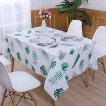 Hiasan PVC Rectangle Tablecloth 100% Waterproof Spillproof Stain Resistant Wipeable Vinyl Table Cloth for Outdoor Picnic Kitchen Dining, 54 x 108 Inch