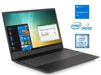 "Lenovo IdeaPad S340 Notebook, 15.6"" HD Display, Intel Core i5-8265U Upto 3.9GHz, 12GB RAM, 256GB NVMe SSD + 1TB HDD, HDMI, Card Reader, Wi-Fi, Bluetooth, Windows 10 Pro"