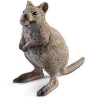 SCHLEICH Wild Life Quokka Educational Figurine for Kids Ages 3-8