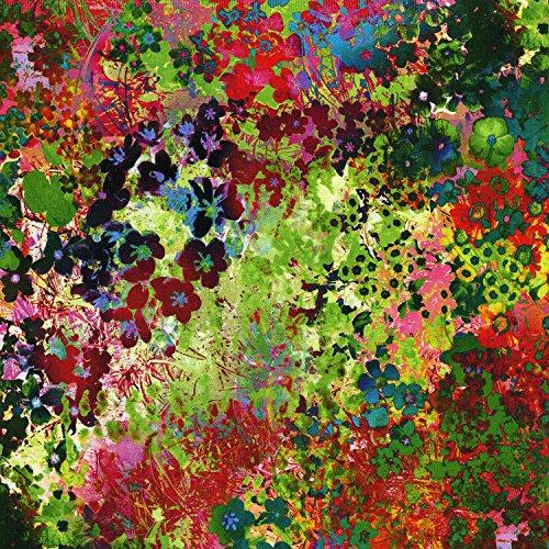 RJR Fashion Fabrics Arabesque Floral Impressions Digital Wildflower Fabric By The Yard