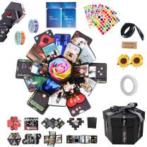 Formemory DIY Explosion Box Creative Photo Album with 6 Faces, Surprise Gift Scrapbook for Wedding Birthday Anniversaries