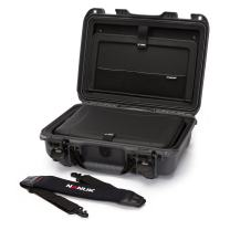 Nanuk 923 Waterproof Hard Case with Laptop Insert Kit and Incorporated TSA Approved Travel Lock Latches - Graphite
