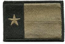 Texas Tactical Patch - Coyote
