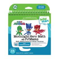 LeapFrog LeapStart Book, Moonlight Hero Math With Pj Masks, Level 2, Great Gift For Kids, Toddlers, Toy for Boys and Girls, Ages 3, 4, 5, 6