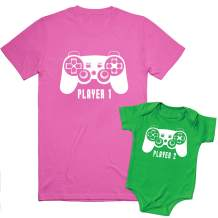 Texas Tees, Player 1 Player 2 Shirts, Brother and Sister Matching Outfits,