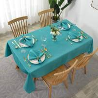 maxmill Jacquard Cloth Napkin 20 x 20 Inch Swirl Design Solid Washable Polyester Dinner Napkins Set of 4 with Hemmed Edges for Family Holiday Dinners Weddings Parties and Banquets Teal