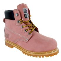 Safety Girl II Insulated Work Boot - Steel Toe Light Pink