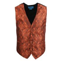 Epoint Men's Fashion Series Style Patterns Microfiber Black-Back Dress Tuxedo Vest