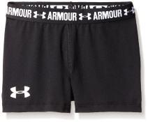 "Under Armour Girls Heatgear Armour 3"" Shorts"