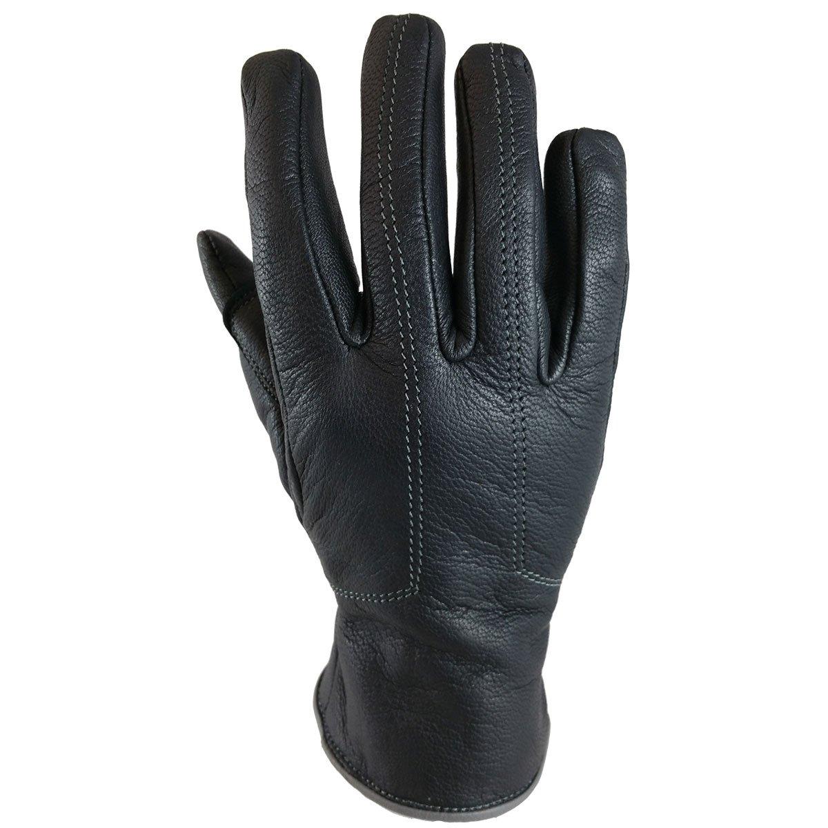 TORC Women Motorcycle Gloves Santa Monica (Grey, Large)