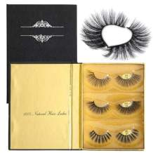 Dorisue Eyelashes Mink 3D Mink Lashes Dramatic Lashes Golden Multi-layered 3 different mink eyelashes mink Extensions kit