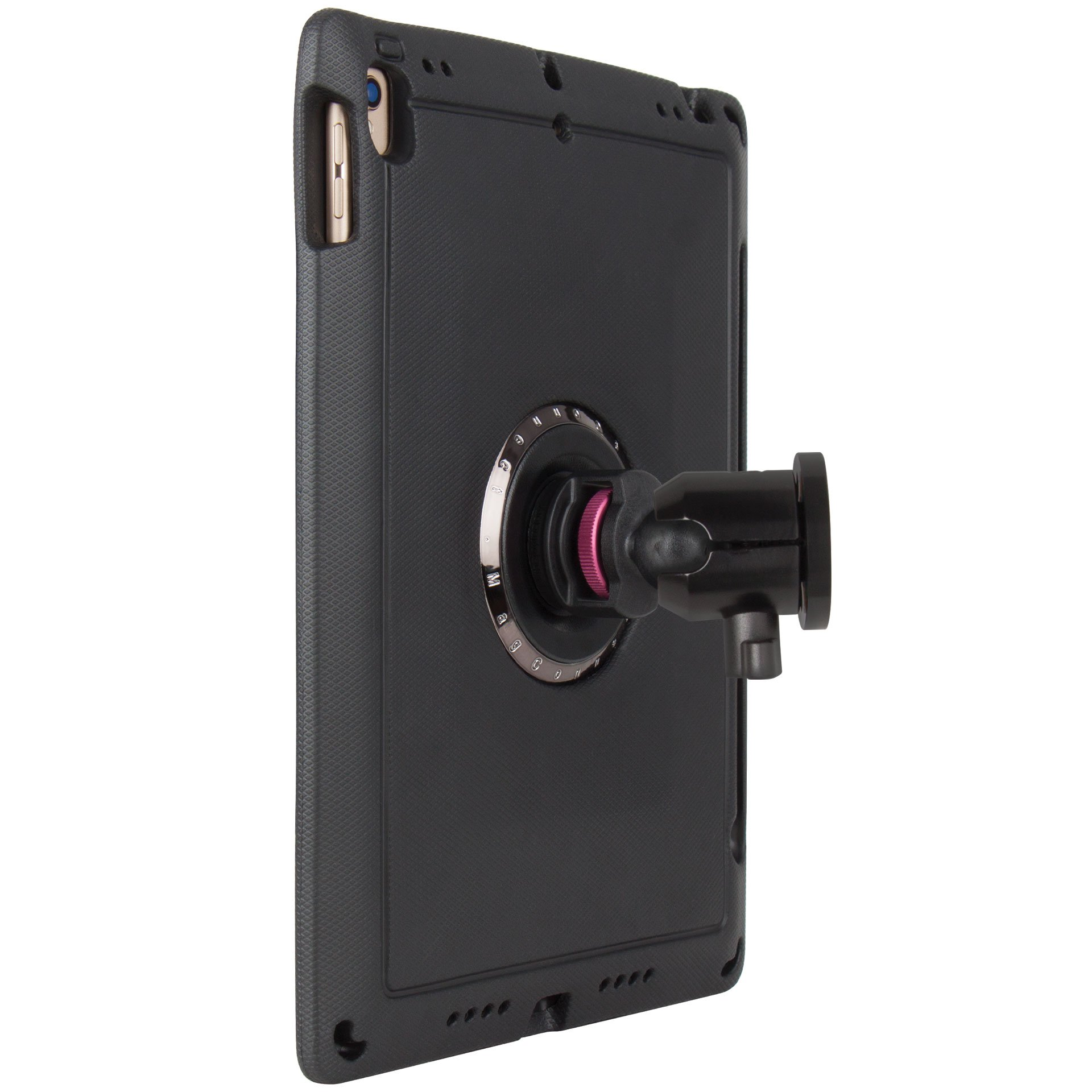 """The Joy Factory MagConnect On-Wall Flush Surface Mount w/ aXtion Edge M Rugged Case for iPad Pro 10.5"""" (MWA715)"""