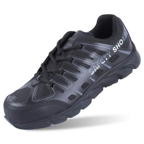 Men/'s Work Boots Safety Shoes Construction Steel Toe Mesh ESD Sneakers Footwear