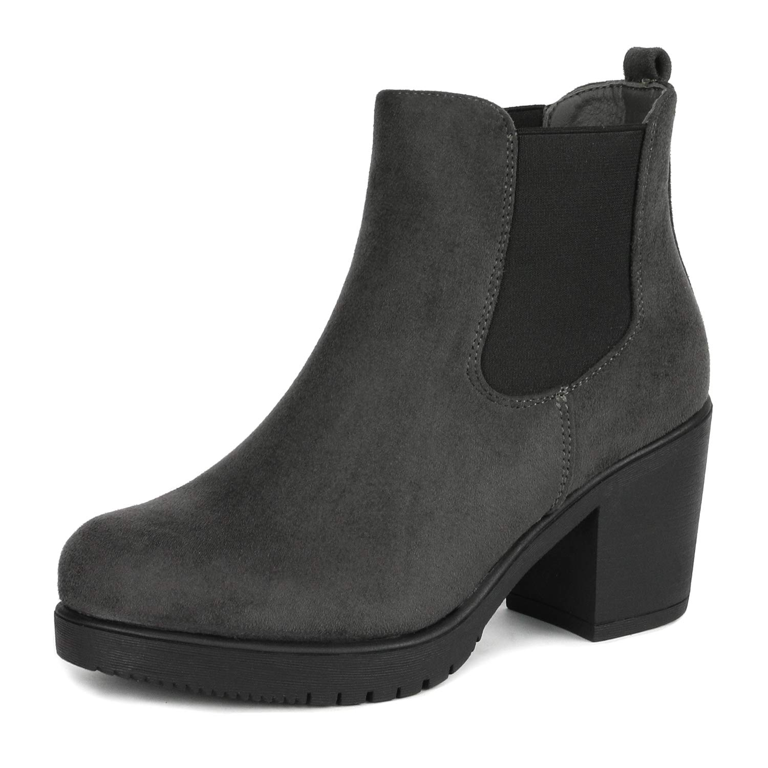 DREAM PAIRS Women's High Heel Ankle Boots