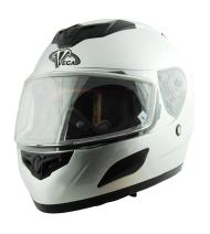 Vega Insight Snow Full Face Helmet (Silver, Large)