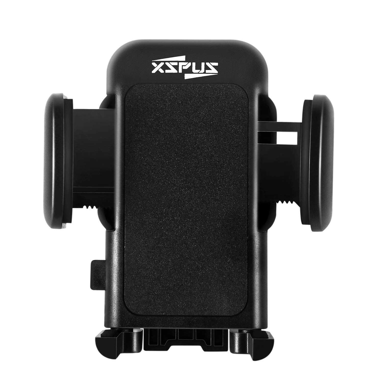 XSPUS Air Vent Car Phone Mount, Universal Car Phone Holder Manual clamping Compatible all 4 to 6.5 inch Smart Mobile Phone Stand for Car, Strong with 360 Degrees Rotation, One Hand Operation, No Tools