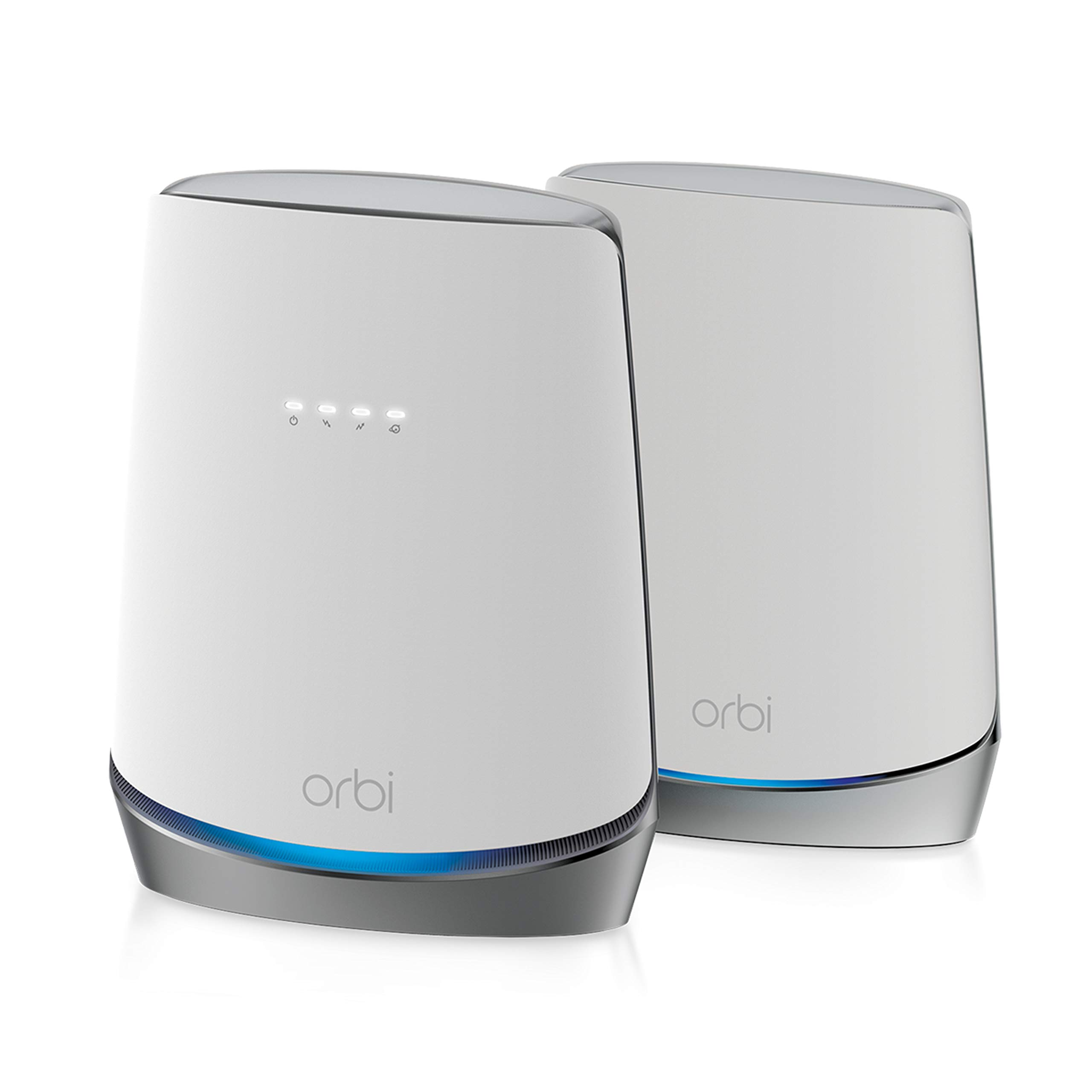 NETGEAR Orbi Whole Home WiFi 6 System with DOCSIS 3.1 Built-in Cable Modem (CBK752) – Cable Modem Router + 1 Satellite Extender   Covers up to 5,000 sq. ft. 40+ Devices   AX4200 (Up to 4.2Gbps)