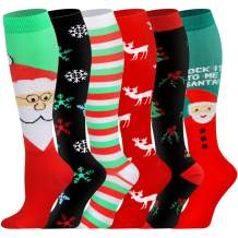Compression Socks Women & Men - Best for Running,Hiking,Athletic,Sports,Flight Travel and Pregnancy